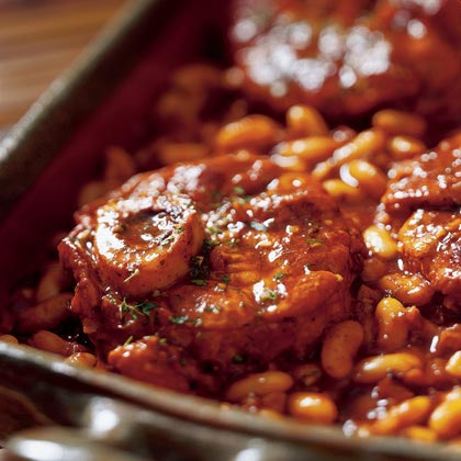 Ossobuco with Tuscan-style Bean and Fennel RagoutRecipe