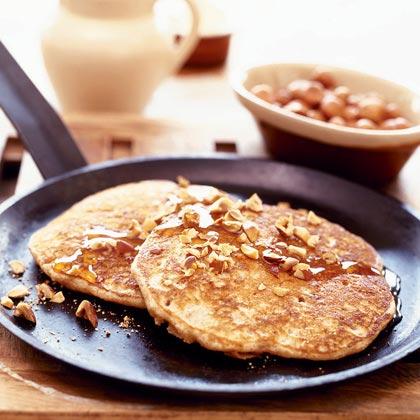 Cinnamon-Hazelnut PancakesRecipe