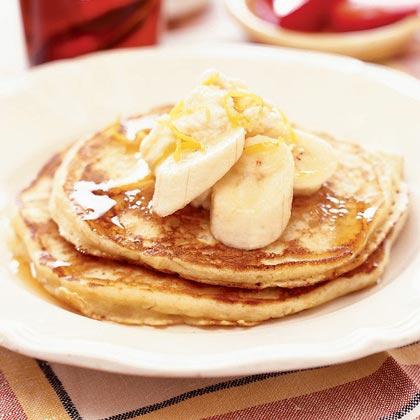 Lemon-Ricotta Pancakes Recipe | MyRecipes