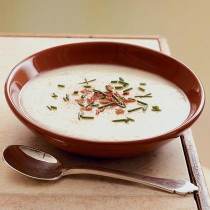 Creamy Potato-Apple Soup