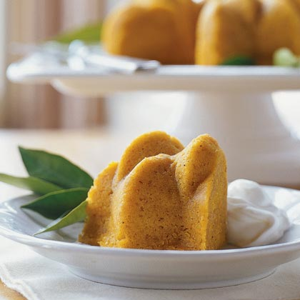 Steamed Pumpkin-Cornmeal Pudding