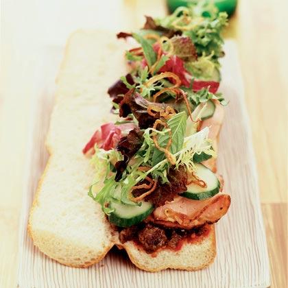 Hoi An-style Oven-crisped Pork Sandwich (Banh Mi Thit Hoi An) Recipe