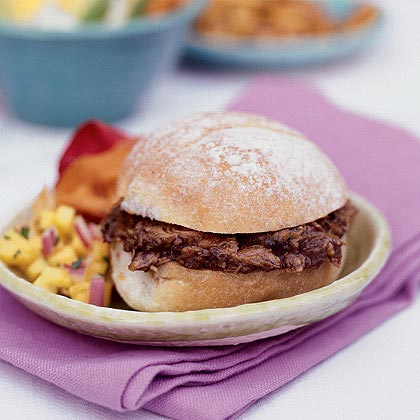 Spiced Pulled Pork Sandwiches Recipe