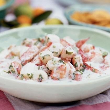 Shrimp and Scallop Ceviche Recipe | MyRecipes