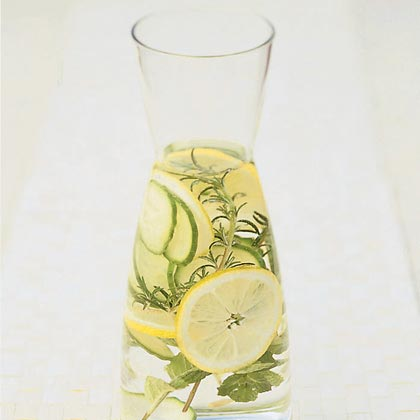 Herb-infused Spa Water Recipe