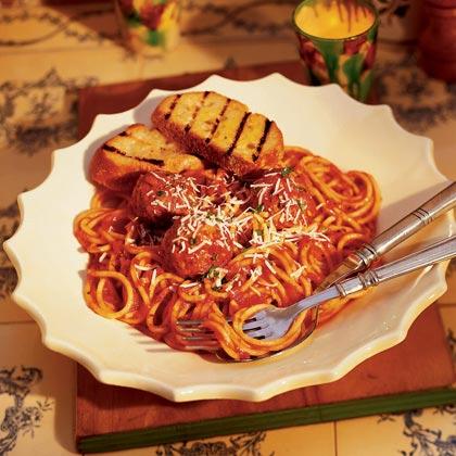 Spaghetti with Meatballs Recipe | MyRecipes