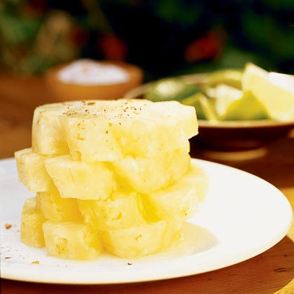 Thai Sweet-Hot Pineapple BlossomsRecipe