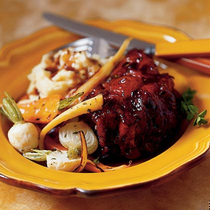 Red Wine-braised Oxtails