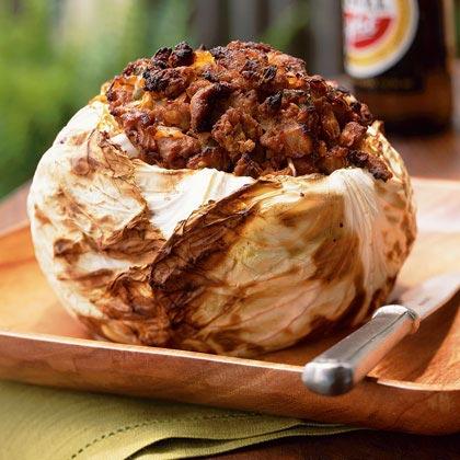 Barbecued Cabbage with Santa Fe Seasonings