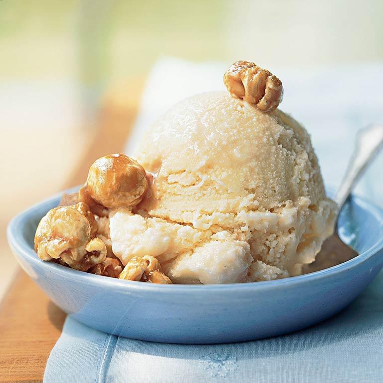 Caramel Corn Ice CreamRecipe