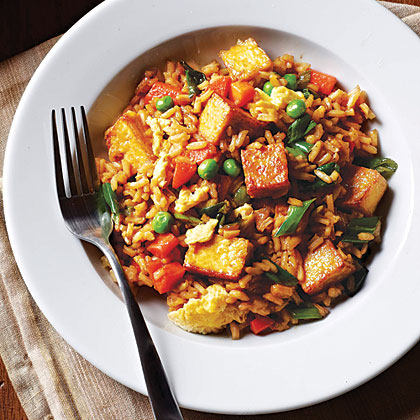 <p>Tofu Fried Rice</p>