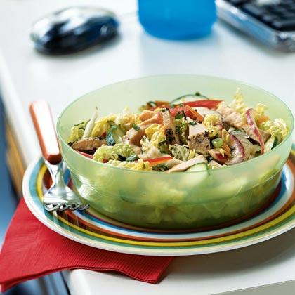 Thai Pork Salad with Chili Dressing