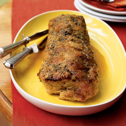 This simple and tasty boneless pork loin is flavored with on-hand pantry ingredients and is super-easy to prepare. If you have leftovers, you can use the pork in sandwiches and salads.Simply Roasted Pork Recipe
