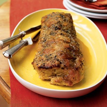 Simply Roasted Pork