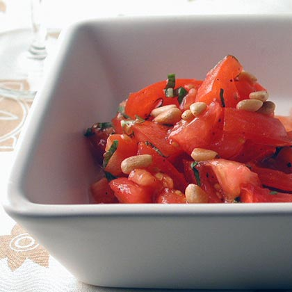 Summer Tomato Chopped Salad Recipe