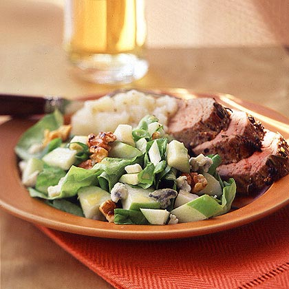 Classic Apple and Blue Cheese Salad