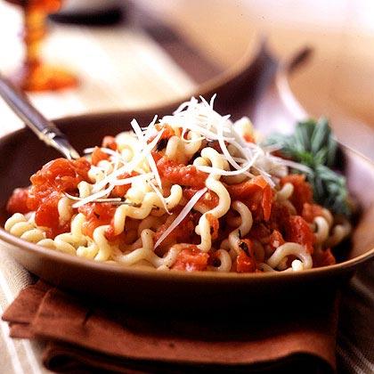 Fusilli with Roasted Tomato Sauce