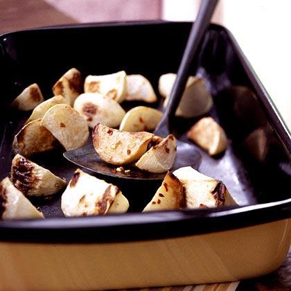 Spicy-Sweet Turnips