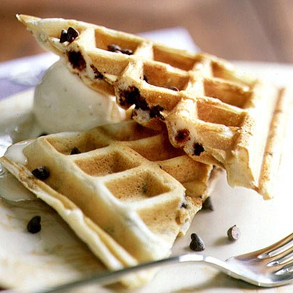 Chocolate Chip Waffles Recipe Myrecipes