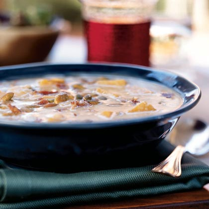 Butternut Squash-White Bean Soup Recipe