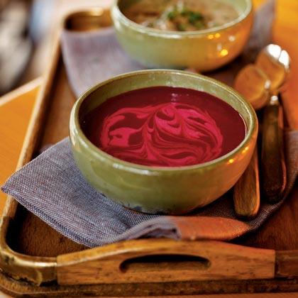 Savory Beet Soup