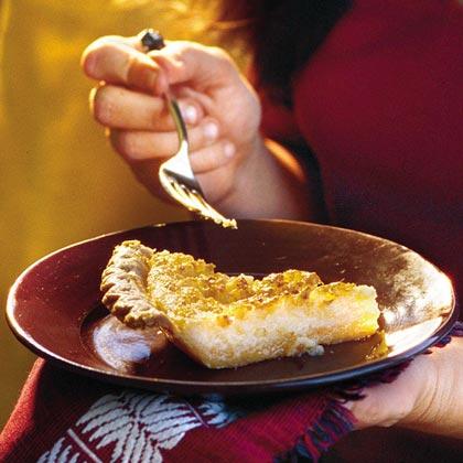 Rancher's Buttermilk Pie