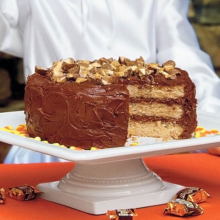 candy bar cake heavenly bar cake recipe myrecipes 2432