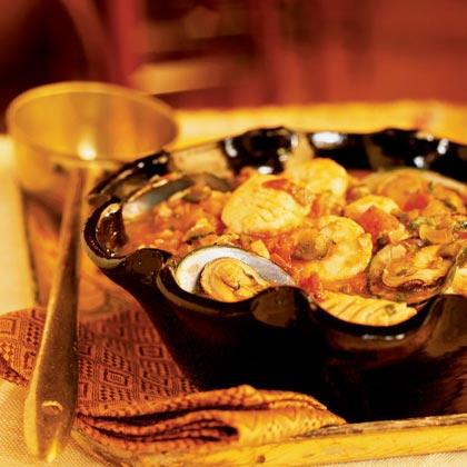 Seafood Soup (Caldo de Mariscos) Recipe