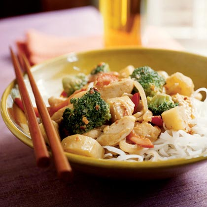 Spicy Chicken and Sunchoke Stir-Fry Recipe