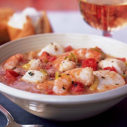 Spring Seafood Stew Recipe | MyRecipes.com