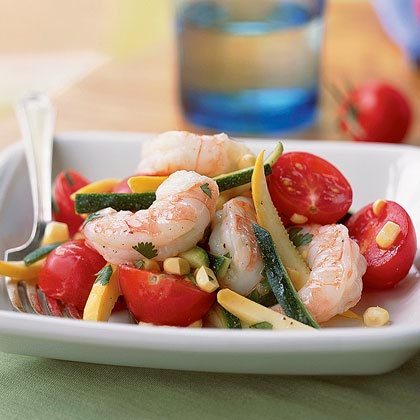 Summer Shrimp Salad with Cilantro Recipe