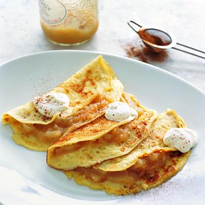 Apple Blintz Pancakes