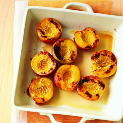 Honey-Broiled Nectarines