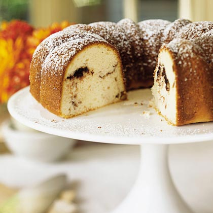 Sour Cream-Hazelnut Bundt Cake Recipe