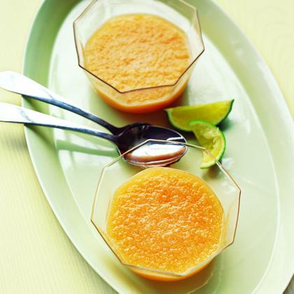 Chilled Cantaloupe Soup Recipe