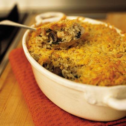 Mushroom and Turkey Casserole