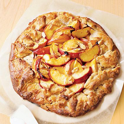 Peach-Almond Crostada Recipe