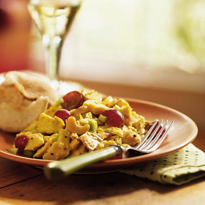 Curry Turkey Salad Recipe | MyRecipes | MyRecipes