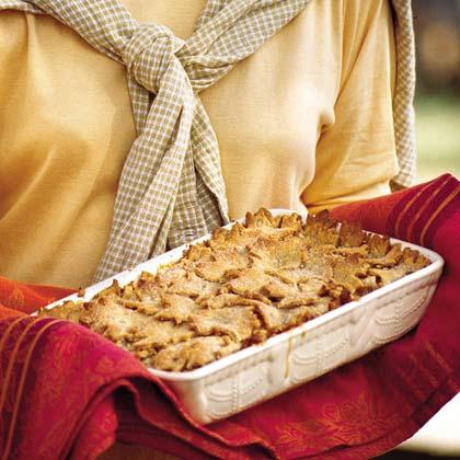Sweet Potato-Apple Cobbler