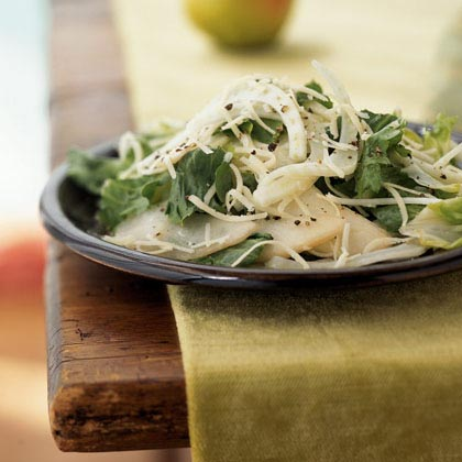 Escarole and Fennel Salad with Pears and GruyèreRecipe