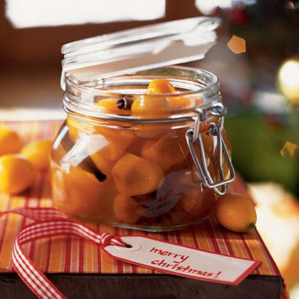 Kumquats in Spiced Syrup with Cloves, Cinnamon, and Star AniseRecipe