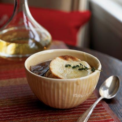 Onion Soup Gratinée Recipe