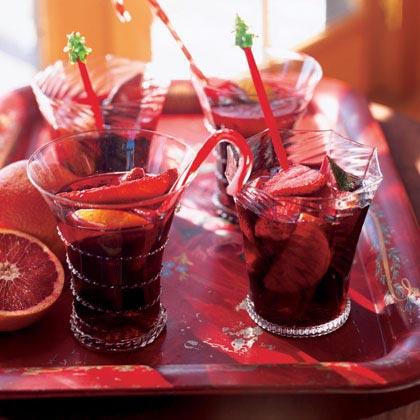 Blood Orange Sangría Recipe
