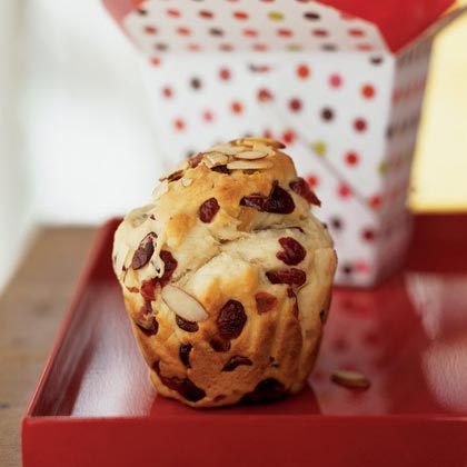 Mini Cranberry Panettones