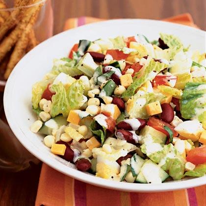 Vegetable Box Salad Recipe