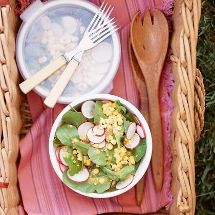 Corn and Arugula Salad Recipe