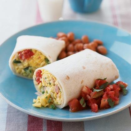 Scrambled-Egg Tacone Recipe