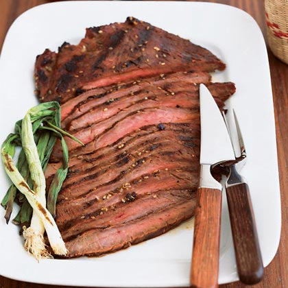 Northwest Grilled Flank Steak