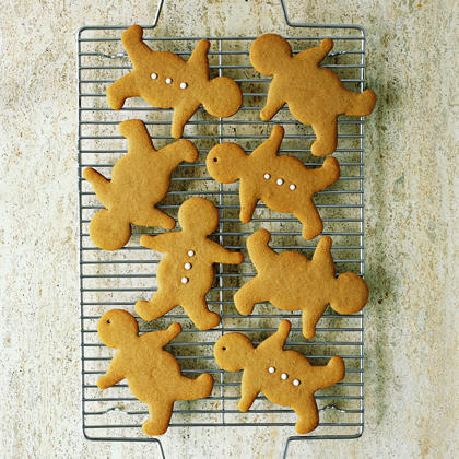 Old-Fashioned Gingerbread MenRecipe