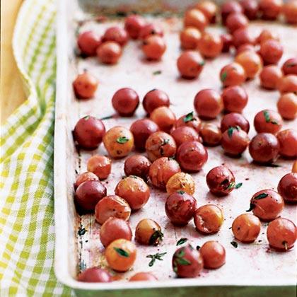 Roasted grapesRecipe
